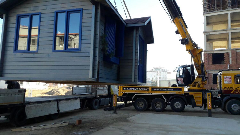 AEV  008 - Taşınabilir Ahşap Ev