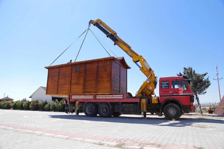 AEV  023 - Taşınabilir Ahşap Ev
